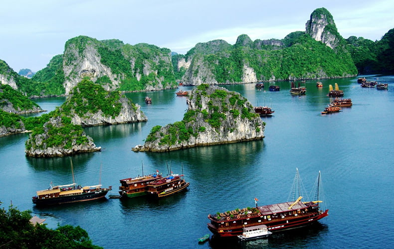 HALONG BAY TOUR: 2 DAYS 1 NIGHT WITH DRAGON CRUISE 2