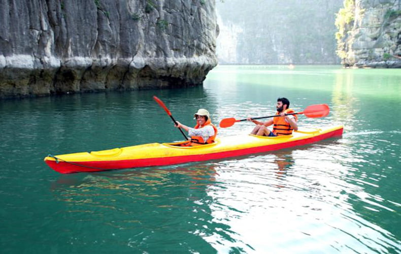 HALONG BAY TOUR: 2 DAYS 1 NIGHT WITH DRAGON CRUISE 3