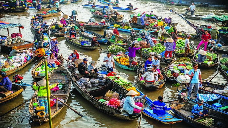 Tour Du Lịch Miền Tây 6N5Đ Sài Gòn – Bến Tre – Mỹ Tho – Đồng Tháp –Châu Đốc – Hà Tiên – Cần Thơ 6