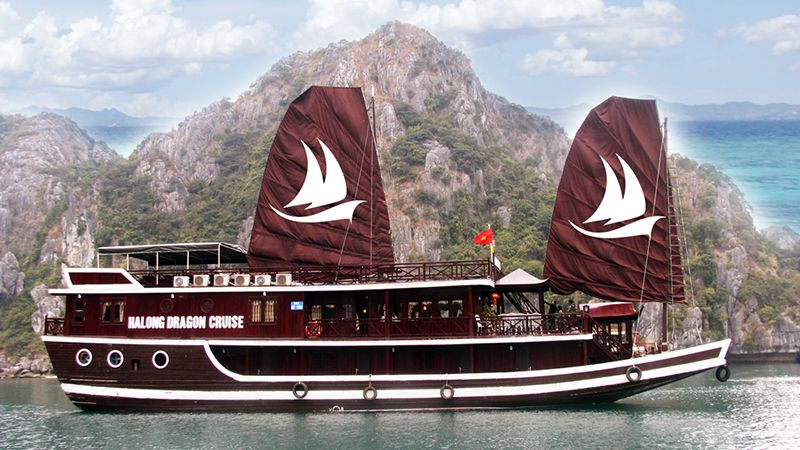 Tour du lịch Hạ Long 2N1Đ Dragon Gold Cruise 1