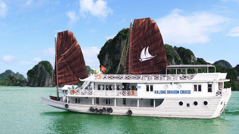 Tour du lịch Hạ Long 2N1Đ trên du thuyền Deluxe Dragon sang trọng 1