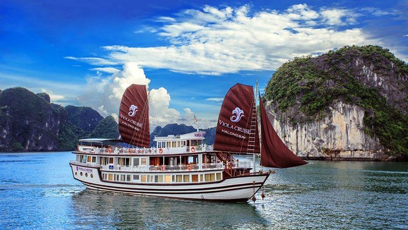 Tour du lịch Hạ Long 3N2Đ trên tàu Viola 4 sao 1