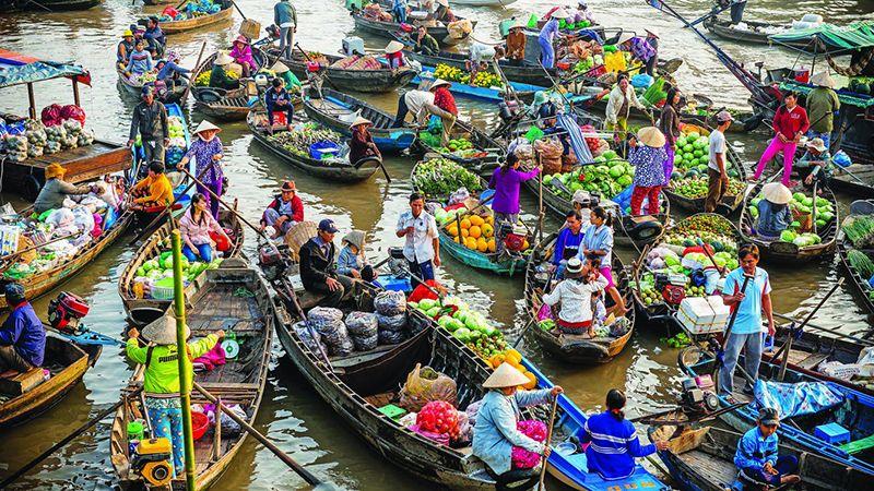 Tour du lịch Miền Tây 1 ngày: Chợ Nổi Cái Bè – Cù Lao Tân Phong 1